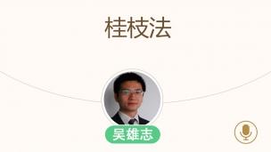 吴雄志--桂枝法