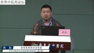 陈磊--颈性眩晕的诊治思路