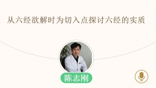 陈志刚—从六经欲解时为切入点探讨六经的实质