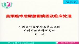 刘娟--宫颈癌术后尿潴留病因及临床处理
