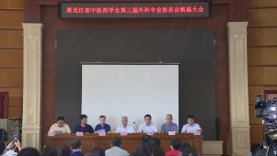 黑龙江省中医药学会第三届外科专业委员会换届大会开幕式