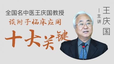 全国名中医王庆国教授谈附子临床应用十大关键