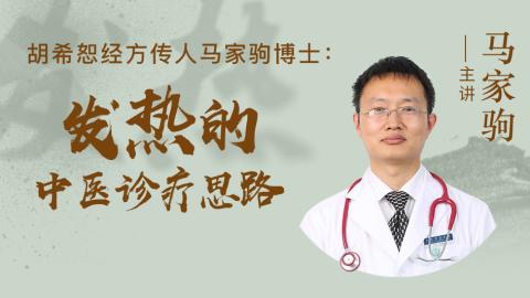 胡希恕经方传人马家驹博士:发热的中医诊疗思路