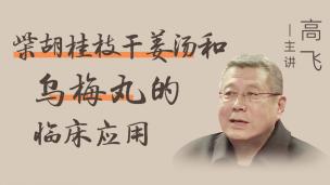 高飞教授--柴胡桂枝干姜汤和乌梅丸的临床应用