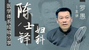北京中医药大学临床特聘专家罗愚主任--陈士铎妇科医学体系经验分享
