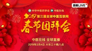 2019全球中医互联网春节团拜会回放
