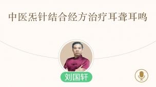 刘国轩 —中医炁针结合经方治疗耳聋耳鸣
